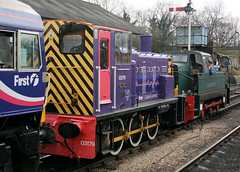 Photo of 110197 03179 & DL83 Wansford Station (NVR) 02.03.2008