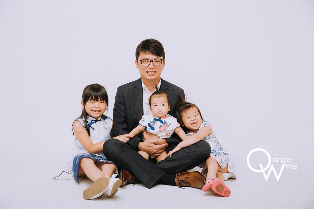 橘子白,攝影,工作室,全家福,兒童攝影,寶寶寫真,寶寶照,Vivi Chen Stylis,旗袍,板橋,台北