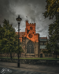 Photo of Carlisle Cathedral from Castle Street