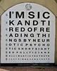 Eye Chart, Croydon, UK