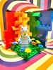 LEGO Minifigure Habitat #4 - Unicorn Pride