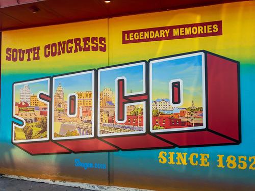 SOUTH CONGRESS - SOCO Mural