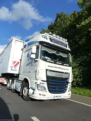Photo of DAF 106 XF AM15 DAF Inhealth Group M60 UK That's The One I Drive 20/1/20
