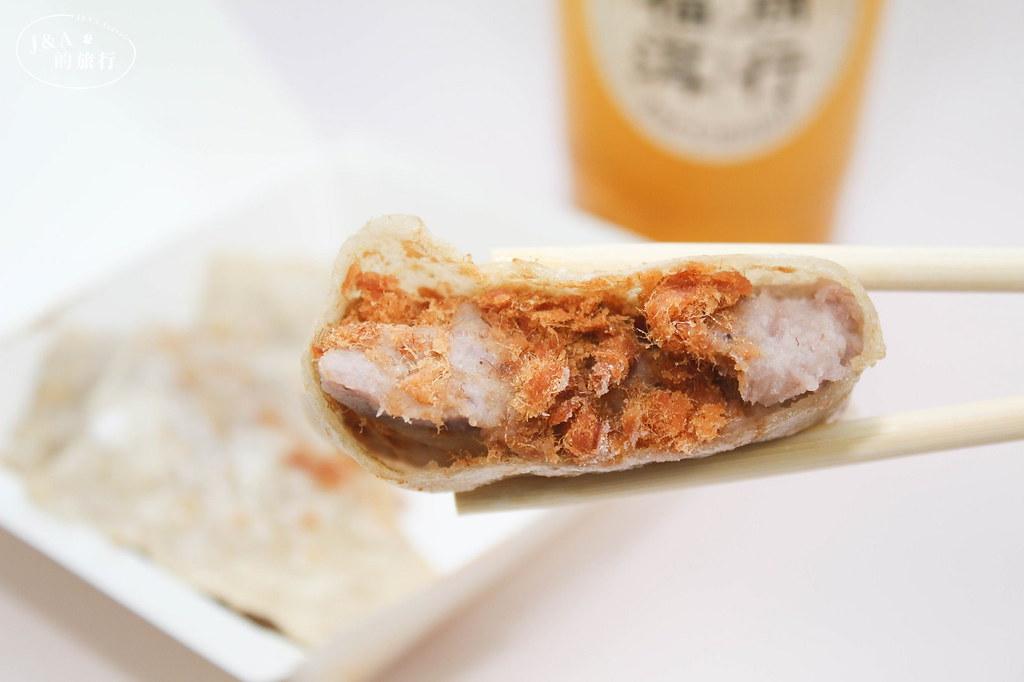文青蛋餅吐司,爆餡芋泥麻糬.麻辣油條/牛肉.皮蛋豆腐你要吃哪一種?福洱商行 @J&A的旅行
