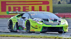 Photo of Adrian Amstutz/Leo Machitski/Miguel Ramos, Barwell Motorsport Lamborghini Huracan GT3 Evo, 2019 Blancpain GT Series Endurance Cup R2, Silverstone, 12th May