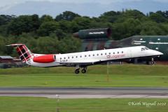 Photo of G-SAJF    ERJ145  Loganair