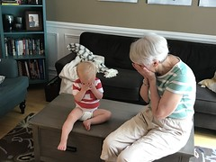 "Luc Plays Peek-a-Boo with Grandma • <a style=""font-size:0.8em;"" href=""http://www.flickr.com/photos/109120354@N07/50108756648/"" target=""_blank"">View on Flickr</a>"
