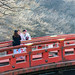 Tourists on Shinkyo Bridge