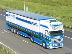 Photo of Scania R Streamline Topline V8 GLZ 800 [ N.IRE ] G & J Derry Of Co Antrim J20 M62 UK