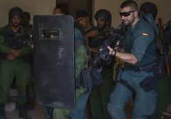 Spanish Civil Guard teaches urban tactics to Mauritanian Group d'Action Rapide at Flintlock 20