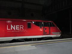 Photo of LNER 91 124. Darlington