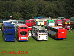 Photo of Rear end view - Trans-Lancs Rally, Heaton Park, Manchester - 2010