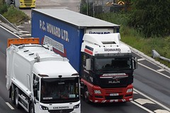 Photo of EY18FRJ MAN TGX 26.500 @ M6, Sandbach on 17.6.2020