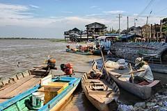 La vita su fiume Mekong-Cambogia