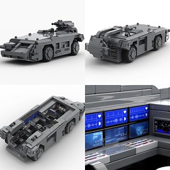 "MOC - M577 APC from the movie ""Aliens""."
