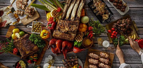 圖7 - 《台北國泰萬怡酒店》MJ Kitchen 自助餐廳推出雙人假日午_晚餐吃到飽63折,有現烤牛小排、中西式餐點、生魚片、甜點與Häage...