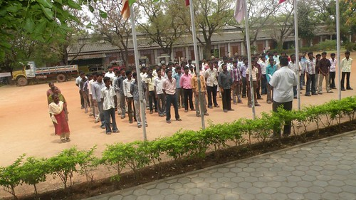 Short term Skill Training Prayer Assembly - ITI- SRKV, Coimbatore