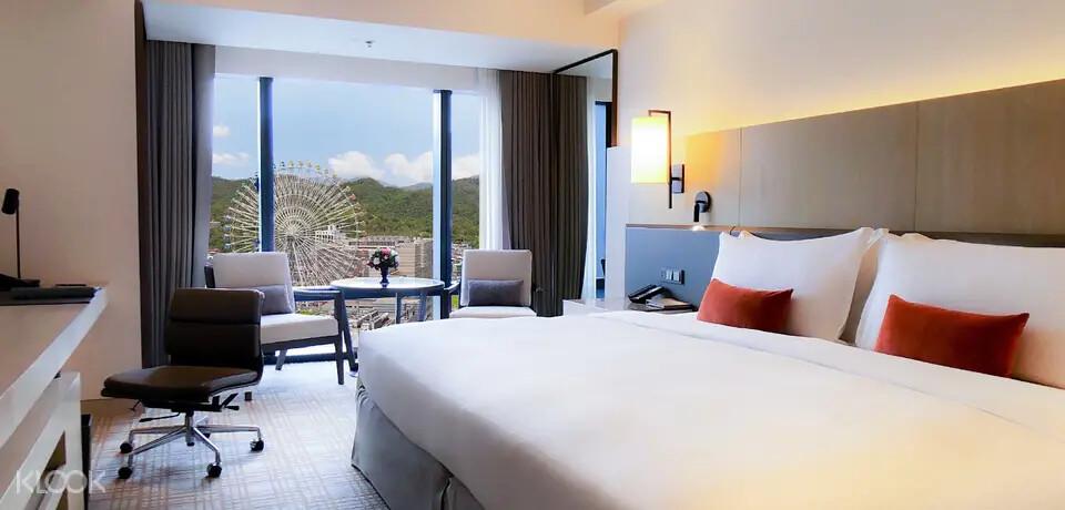 圖4 - 預訂《台北萬豪酒店》住宿直接升等豪華客房,享受高樓層景觀
