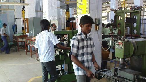 Short term Course Machinist - ITI- SRKV, Coimbatore