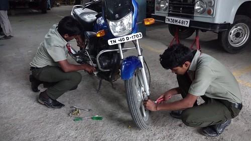 Mechanic Motor Vehicle - ITI - SRKV, Coimbatore