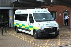 Photo of East of England Ambulance Service NHS Trust . 701 KT13OBG . Herts & Essex Community Hospital , Bishop's Stortford , Hertfordshire . Wednesday 15th-July-2020 .