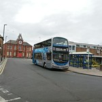 Go North East 6102 between duties on the 309 at Blyth