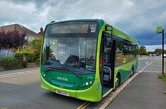 Photo of Southern Vectis Alexander Dennis Enviro 200 bodied E20D HW64AXA in Cowes 14 July 2020