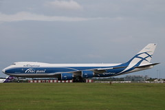 Photo of VP-BBP Boeing 747 Stansted.