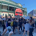 Wrigley Field - George Floyd Protests