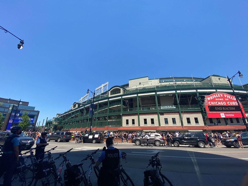 Cubs Photos: Baseball, 2020, wrigleyfield, georgefloyd