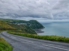 Descent to Lynmouth in Devon.