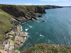 Photo of Pembrokeshire coast between Nolton Haven & Druidstone beach