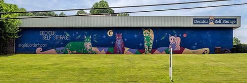 Decatur Self-Storage mural