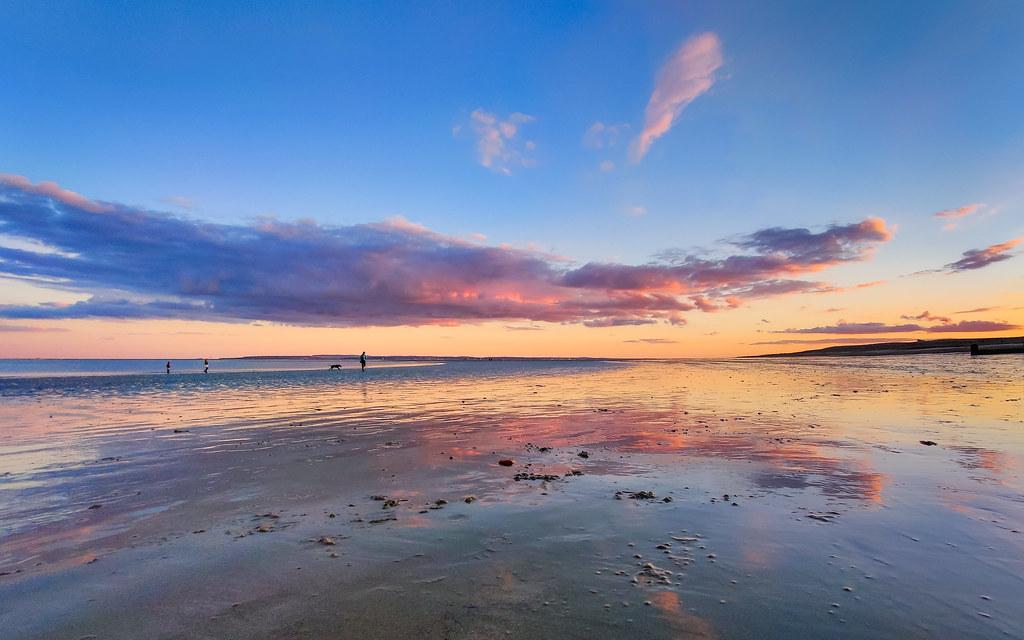 A beautiful miraculous sunset