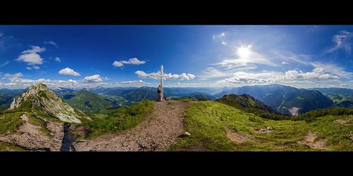 Kitzstein, 360° Panorama