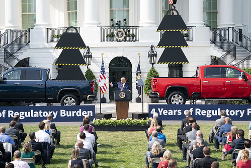 Rolling Back Regulations to Help All Ame by The White House, on Flickr