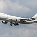 Geo-Sky Boeing 747-200 at FRA (4L-GEN)