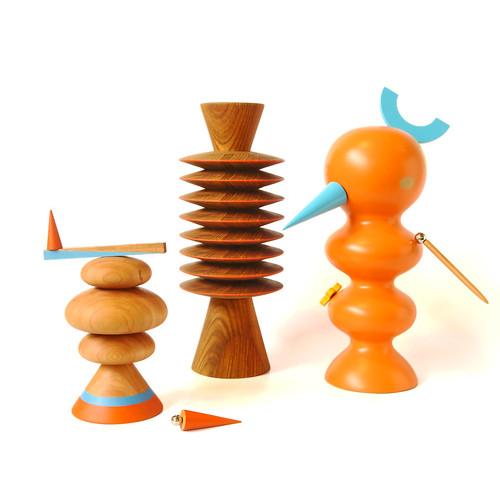 Wood Sculptures Group