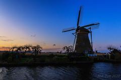 Kinderdijk @ Sunset