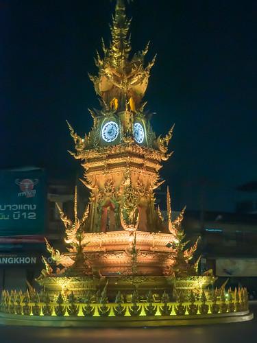 Chiang Rai Clock Tower, Chang Rai, Thailand
