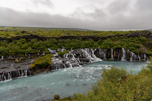 Cascade de Barnafoss, Islande