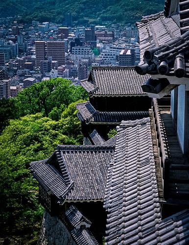 Matsuyama Castle, Ehime, Japan 松山城、愛媛県