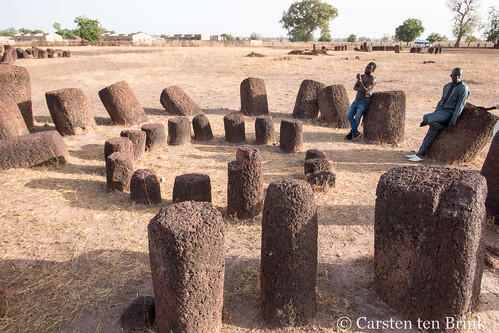 Sine-Ngayene stone circles - a rare double circle