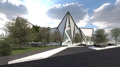 Origami Experiential Center in New Cairo (Egypt) by Mohamed Gamal