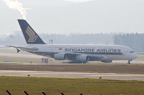 9V-SKS(cn 085)Airbus A380-861 Singapore Airlines