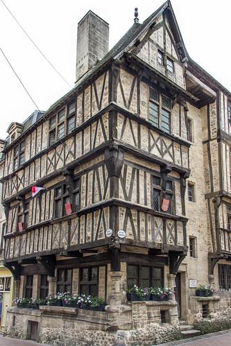 Maison de la Rue Saint-Martin, Bayeux, Normandy, France