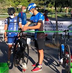 primeras competiciones team clavería Trescantos Merida 2