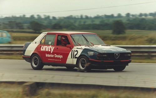Renny Burnside Snetterton 1987
