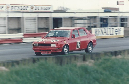 Colin Roberts Silverstone 1985