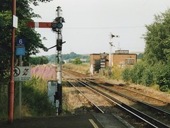 Photo of Sturry, Kent Up starter and Down inner Home signals 2004